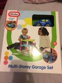 BNIB little tikes multi storey garage set