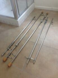 Brand New Selection of chrome curtain poles