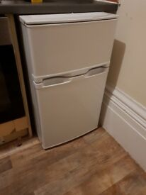 Under the counter fridge freezer in excellent condition - only 4 months old