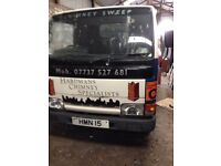 nissan cabstar 1998 dropside alloy body