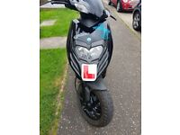 piaggio typhoon 125 scooter moped excellent condition .