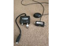 TV link (magic eye) with RF OUT adapter