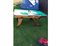 Smooker table - £10.00