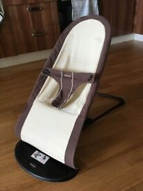 Baby Björn Bouncer brown/cream
