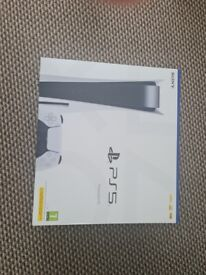 Brand New Sealed Sony Playstation 5 Disk Console | With Proof Of Purchase