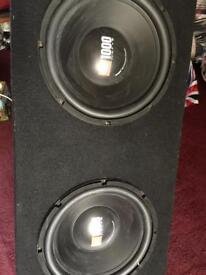 JBL Double Sub 1000 watts