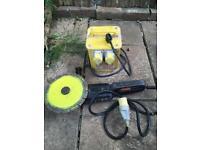 Agle grinder and transformer