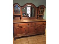 Victorian oak sideboard / dresser