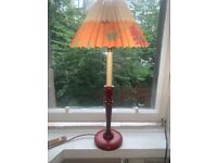 Lamp with shade/bulb