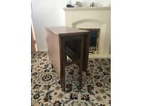 Melamine retro folding table