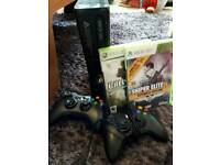 Xbox 360 and 2 game