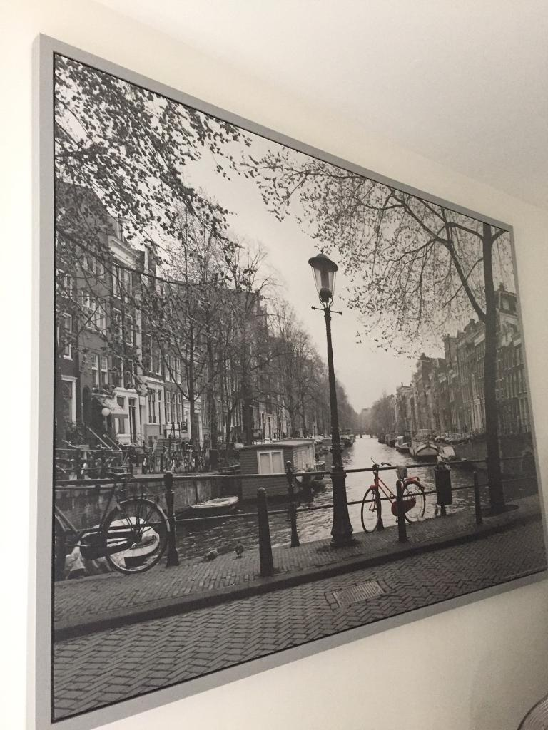 IKEA BJORKSTA framed Amsterdam picture | in Kingston, London | Gumtree