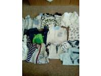 Baby clothes O to 3 months job lot