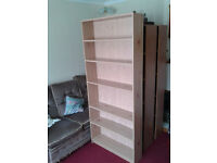1 book or storage shelf. coated chipboard, movable shelves