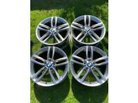Genuine BMW 18inch 461M alloys.
