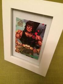 Marvel HERCULES 1995 Flair Framed Trading Card