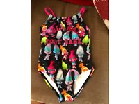 Girls Swimming costume Trolls Design Age 5 years