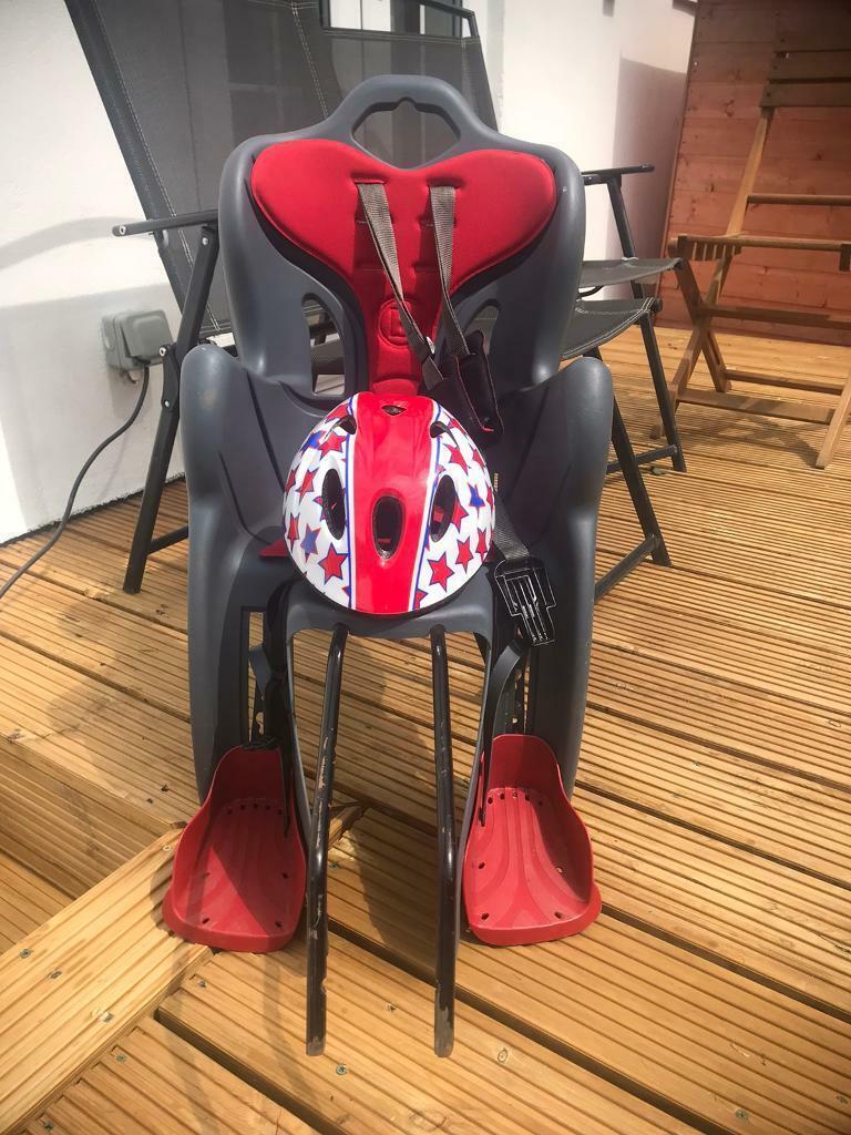 Child's bike seat Halfords
