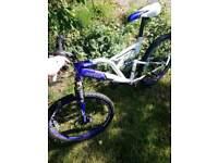 Boys Dual suspension Dunlop sport bicycle