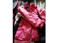 Bundle of ski wear large girl size 8 to 10