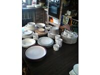 Crockery for sale some matching if interested feel free to view all different prices