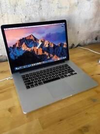 15.4 Retina Macbook Pro i7 2.4Ghz 8GB 250GB SSD Logic Pro X Native Instruments Izotope Omnisphere 2