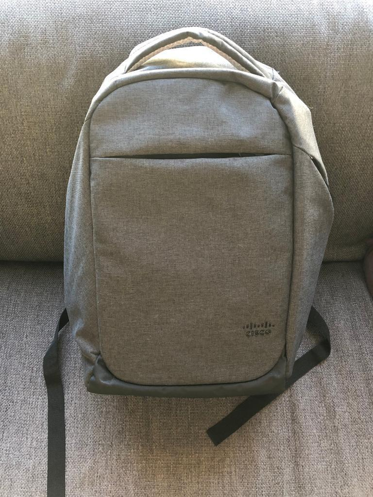 9b8636fd27a8a5 New Cisco Security Backpack. London £25.00