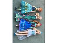 Set of Frozen Anna & Elsa dolls