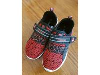 Kids Spiderman trainers - Size 12 never worn