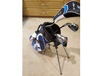 Jaxx Junior Left Handed Golf Club Set & Bag