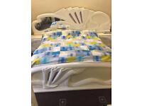 Italian king size bed