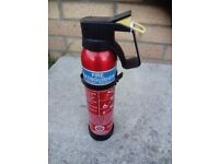 Camping fire extinguisher