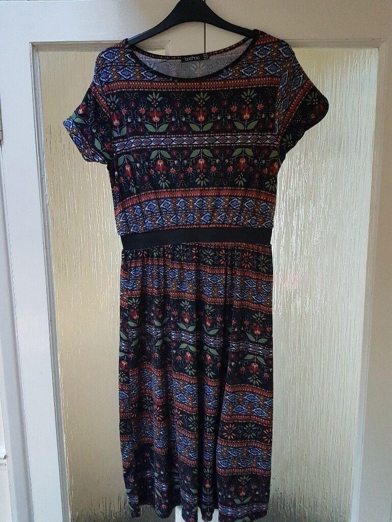 Ladies boohoo size 14 dress