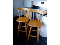 Pair of kitchen stools