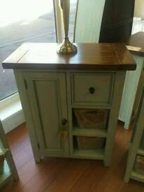 Brand new! reclaimed hand painted coffee cabinet was £399 now £199 wow!