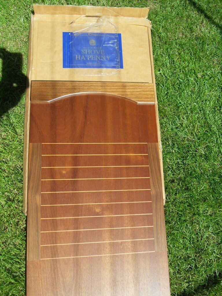 Wooden Shove Penny Board Good Condition In The Box