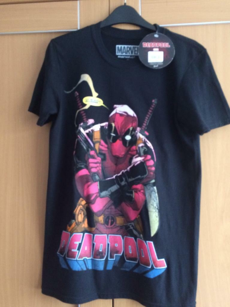 Deadpool Tshirt new with tags