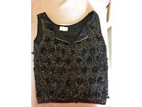 Beaded top ladies vintage