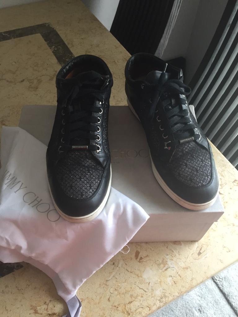 Jimmy Choo Miami trainers shoe size 6