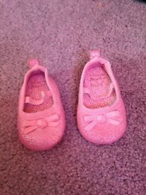Next mini Baby Shoes 0-3mths