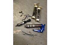 Air Comp Toold grease gun & grease