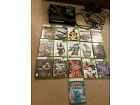 Xbox 360 Elite Console Bundle Including 16 Games and wireless network adapter