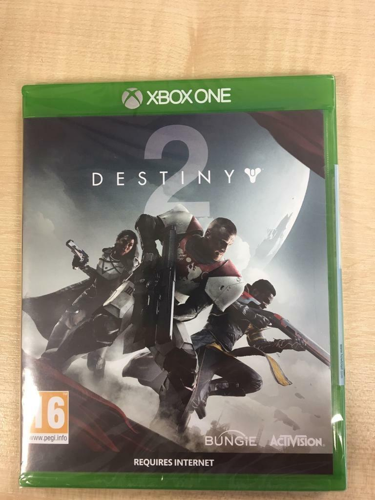 brand new sealed destiny 2 xbox one in canvey island. Black Bedroom Furniture Sets. Home Design Ideas
