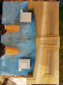 Sandstone lintel