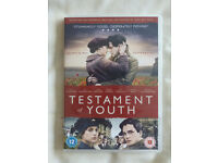 TESTAMENT OF YOUTH DVD