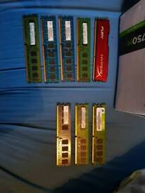 DDR2 and DDR3 ram