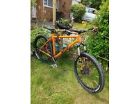 Orange p7 2017 mountain bike
