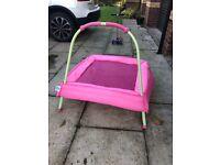 Elc toddler pink trampoline