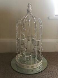 10 x Wedding Bird Cage Candle Holders
