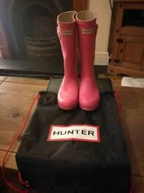 Hunter wellies